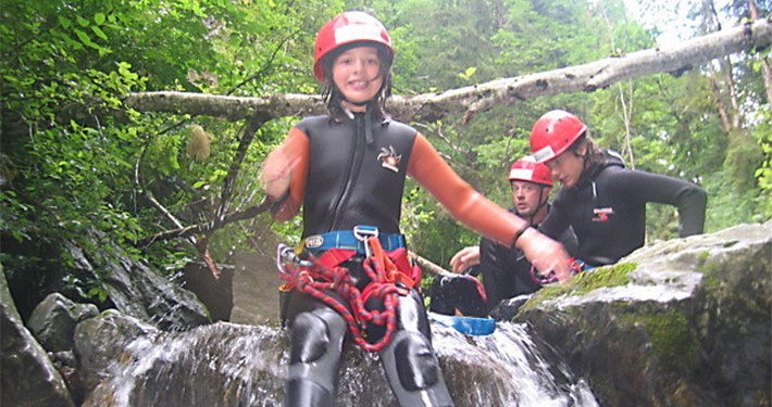 Ares Canyoning Kinder