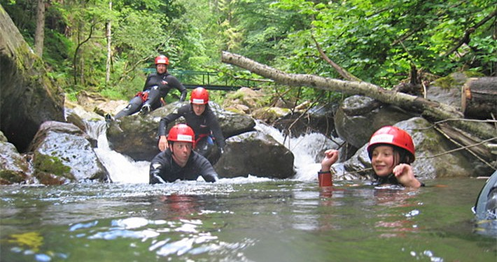 Ares Canyoning Einsteiger