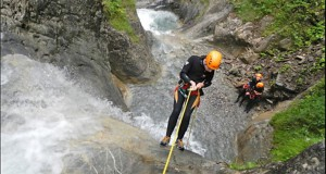 Ares Canyoning Abseilen