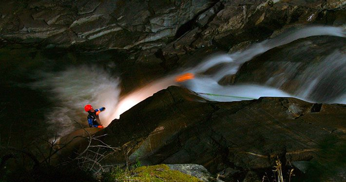 Alpinsport-Koller-Nachtcanyoning