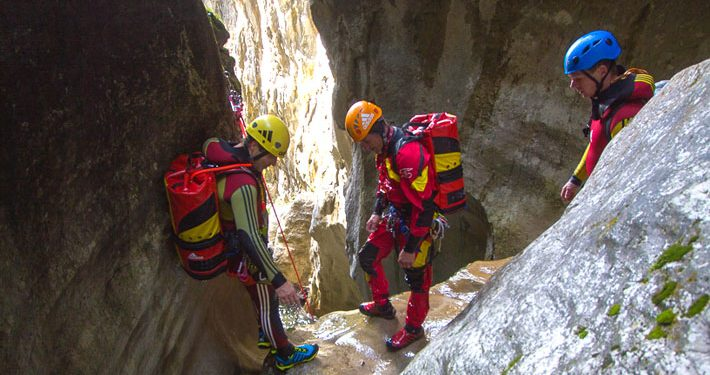 Alpin-Guide-Canyoning-Belluno